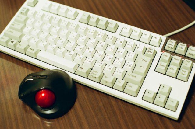 AE-1のキーボード